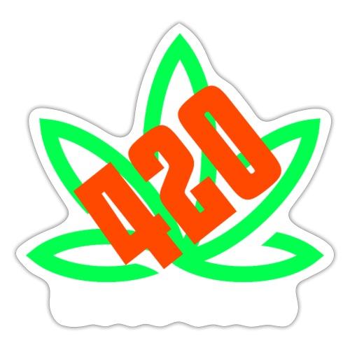 weed zone - Autocollant