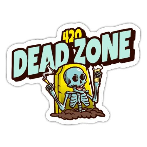 dead zone - Autocollant