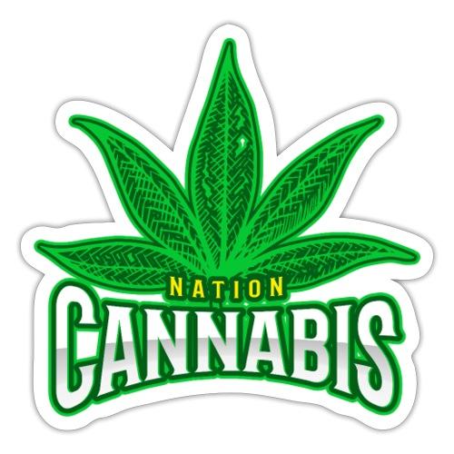 420 nation - Autocollant