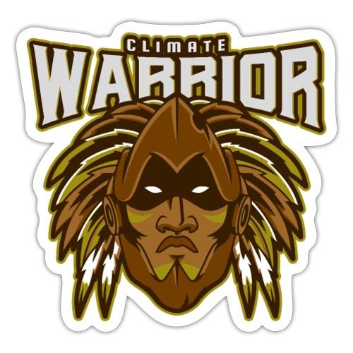 'Climate warrior' voor de klimaat activist - Sticker
