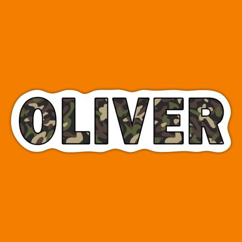 Oliver - Klistermärke