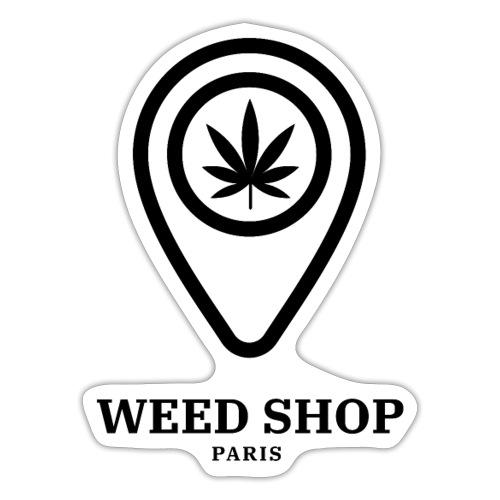 420 weed shop - Autocollant