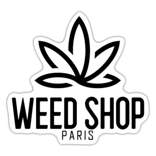 Paris weed shop - Autocollant