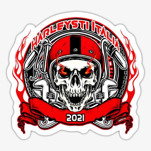 Harleysti Italia Design Ufficiale Collezione 2021 - Adesivo