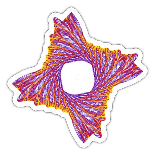 rotierendes Lebensfeuer 12162bry - Sticker