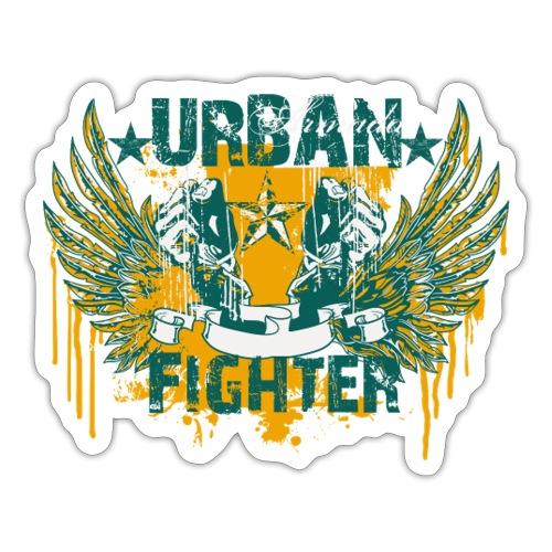 skuls urban fighter - Sticker