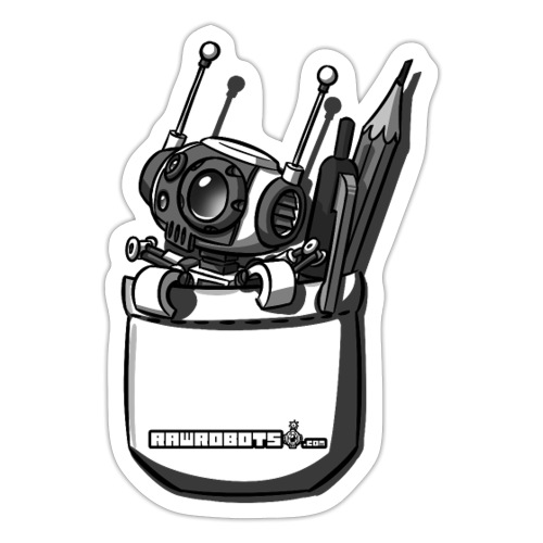 Pocket Robot - Sticker