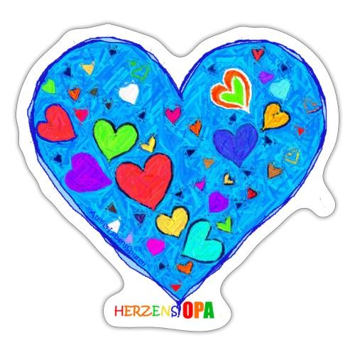HerzensOpa - Sticker