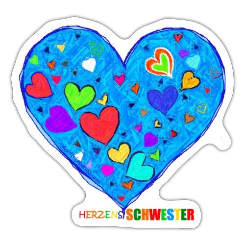 HerzensSchwester - Sticker