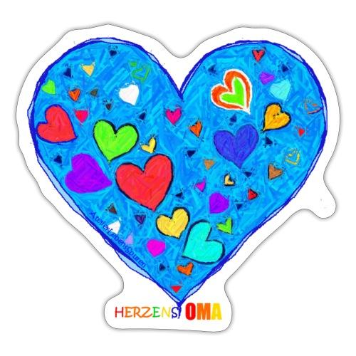 HerzensOma - Sticker