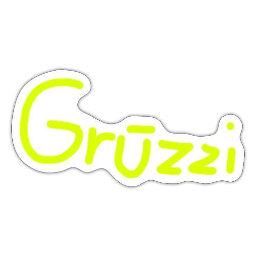 Grüzzi Handgeschrieben - Sticker