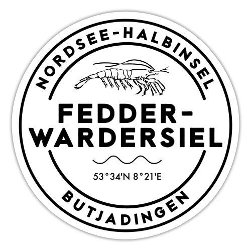 Fedderwardersiel - Sticker