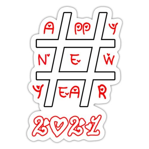 Happy new year 2021 - Autocollant