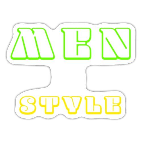 Men in style - Autocollant