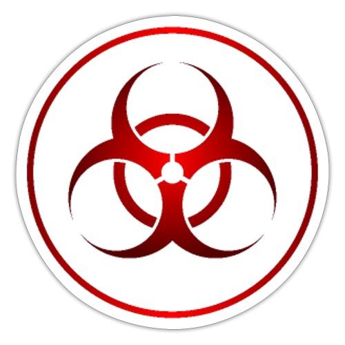 biohazard - Pegatina