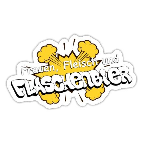 Flaschenbier - Sticker