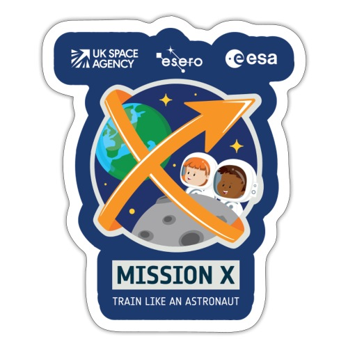 Mission X - Sticker