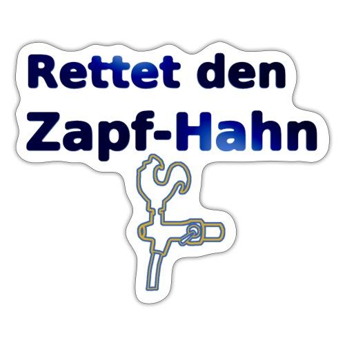 Rettet Zapfahn BG - Sticker
