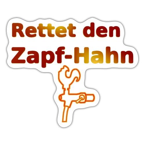 Rettet Zapfahn RG - Sticker