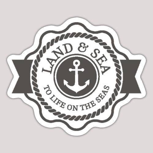 Anker Land Sea1 - Sticker