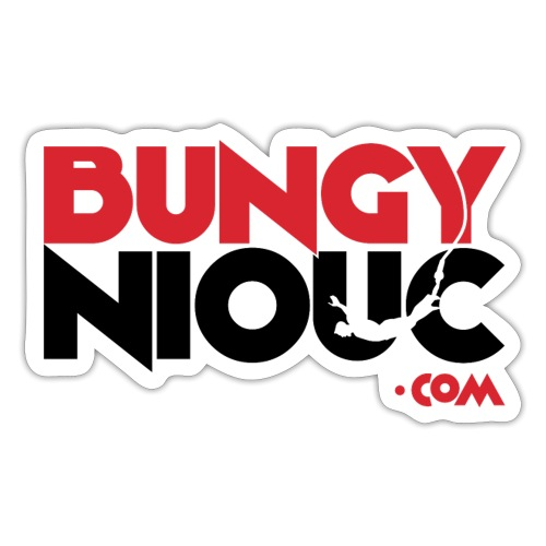 BungyNiouc Logo - Autocollant
