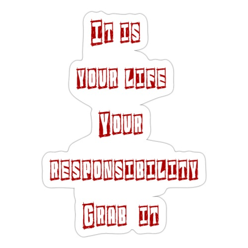 Responsibilit - Sticker