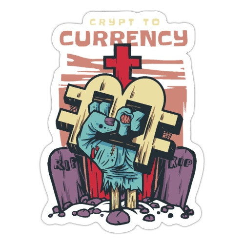Bitcoin und CrypToCurrency - Sticker