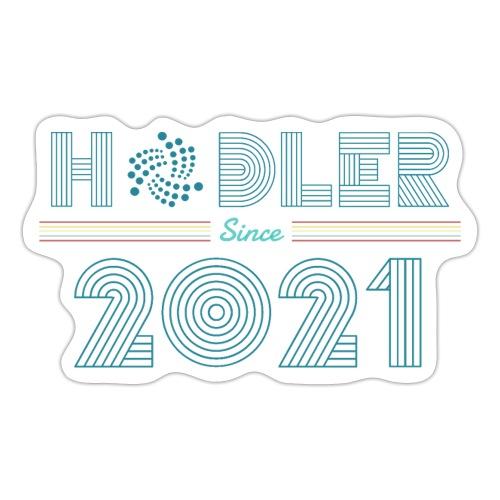 IOTA Hodler since 2021 - Sticker