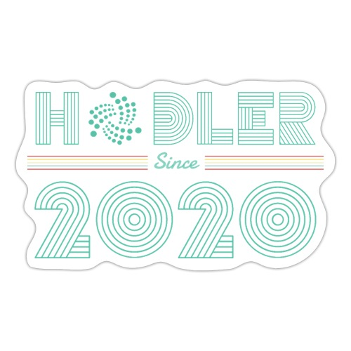 IOTA Hodler since 2020 - Sticker