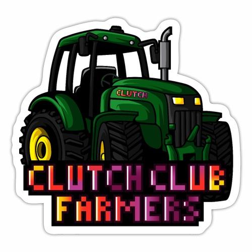 Clutch Club Farmers - Klistermärke