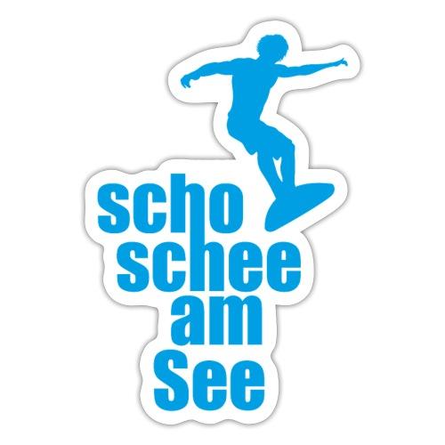 scho schee am See Surfer 02 - Sticker