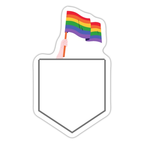 Lomme Flag - Sticker