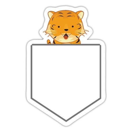 Lomme Tiger - Sticker