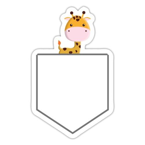 Lomme Giraf - Sticker