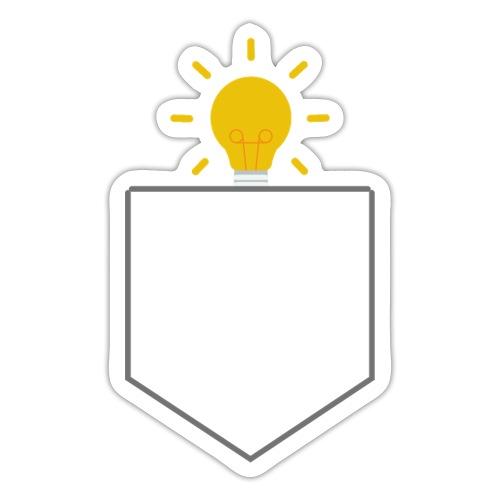 Lomme Lyspære - Sticker