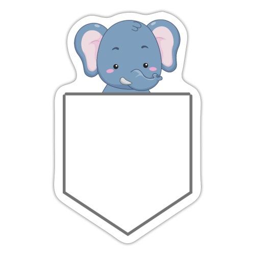 Lomme Elefant - Sticker