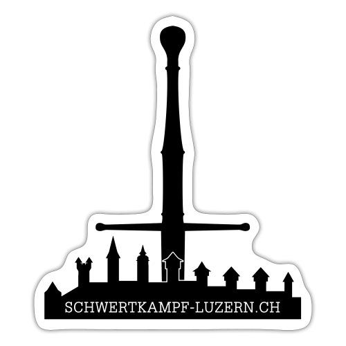 Schwert Museggmauer Website - Sticker