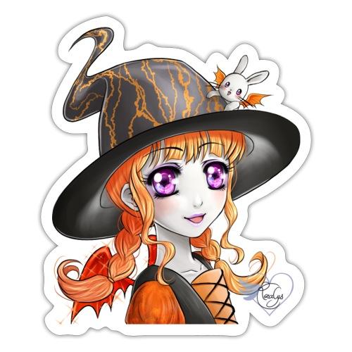 Miss Halloween - Autocollant