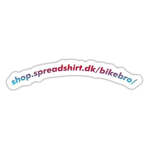 Website navn - Sticker