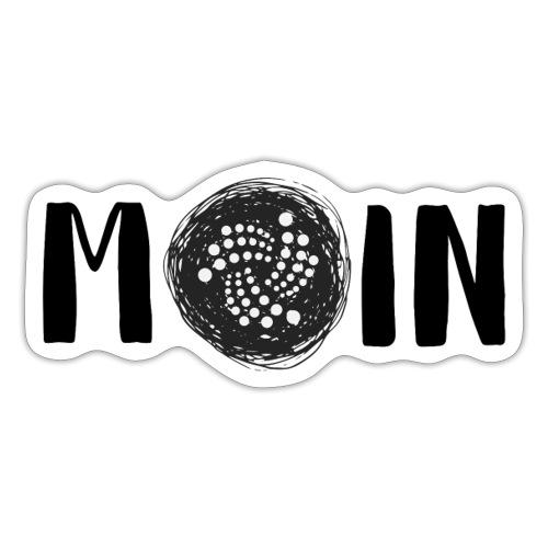 MOIN IOTA | BTC, Kryptowährung | IOTA Shirt - Sticker