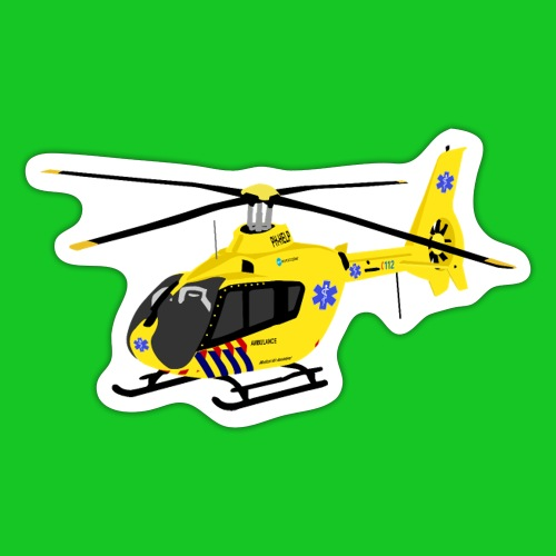 Trauma helicopter - Sticker
