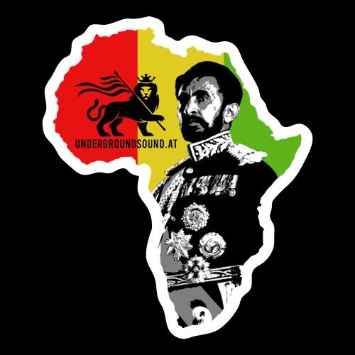 Africa Conquerin Lion H.I.M. - Sticker