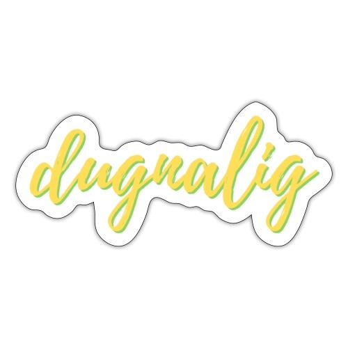 dugnalig - Sticker
