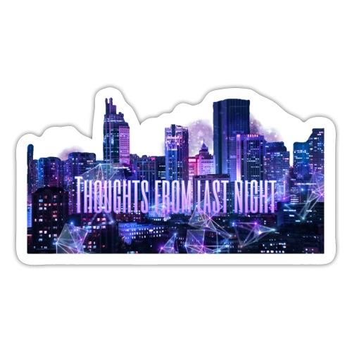 """""""Thoughts from last night"""" collection. ~Stazia~ - Klistermärke"""