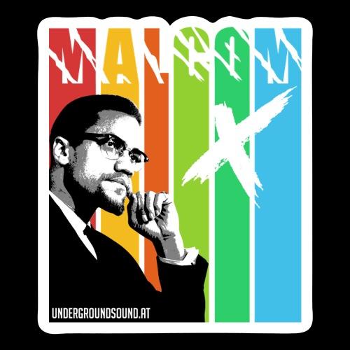 MALCOM X colourful - Sticker