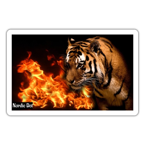 Tiger Flame - Sticker