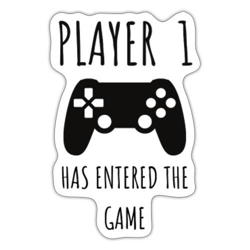 Player 1 - Sticker