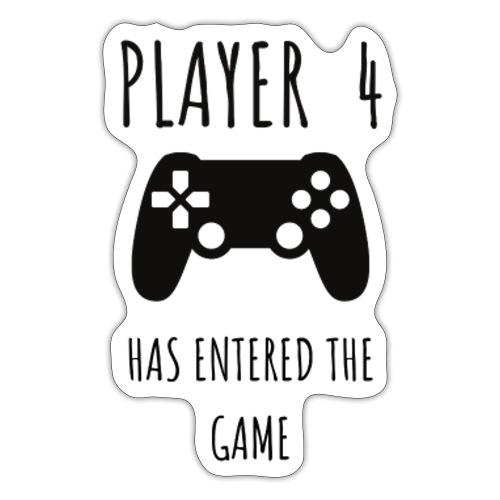 Player 4 - Sticker