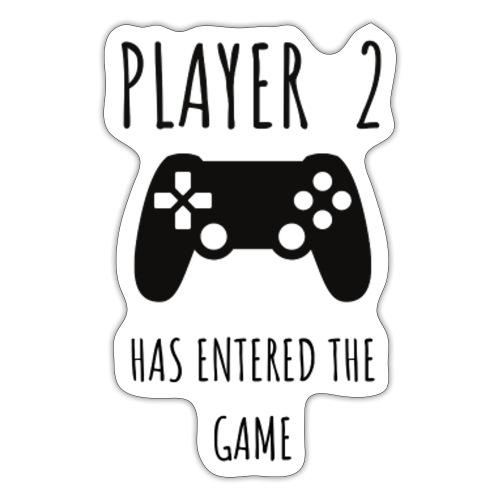 Player 2 - Sticker