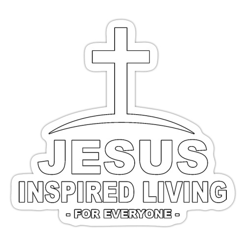Jesus Inspired Living - Klistermärke
